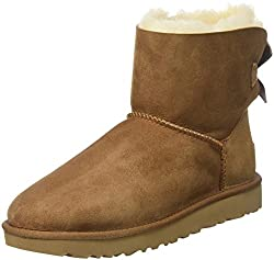 UGG Mini Bailey Bow II : Classic Boot chaussure hiver Femme